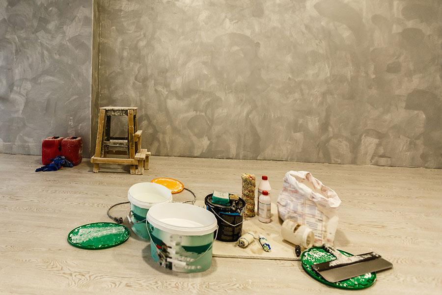 travaux de peinture de l'hôtel de ville de Vannes - Laudic Peinture